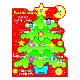 Karácsonyi játékos foglalkoztató - Piros Itt egy ajánlat található, a bővebben gombra kattintva, további információkat talál a termékről.