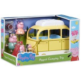 Peppa nagy lakókocsi 4 figurával
