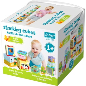Baby kocka - baby játék - A farmon 86 cm magas