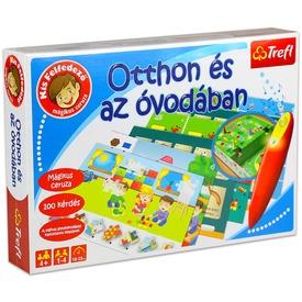 Otthon és az óvodában oktató játék