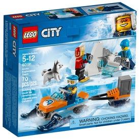 LEGO® City Sarkvidéki expecíciós csapat 60191