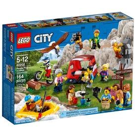 LEGO City Town 60202 Figuracsomag - Szabadtéri kalandok