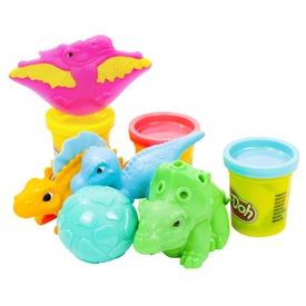 Play-Doh dínó eszközök gyurmakészlet