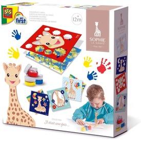 SES Sophie a zsiráf - kézzel festő kártyák