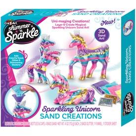 Shimmer and Sparkle Unikornis dekorhomok készlet