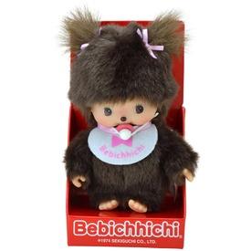 Monchichi - babychichi lány barna