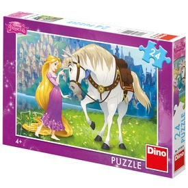 Puzzle 24 db - Hercegnő és a paripája