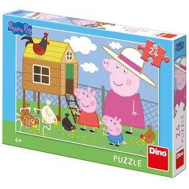 Puzzle 24 db - Peppa malac
