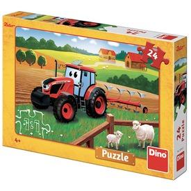 Puzzle 24 db - Zetor a traktor