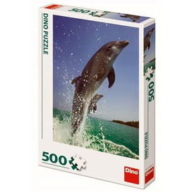 Puzzle 500 db - Delfinek