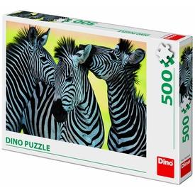 Puzzle 500 db - Zebrák