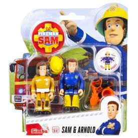 Sam a tűzoltó figurák