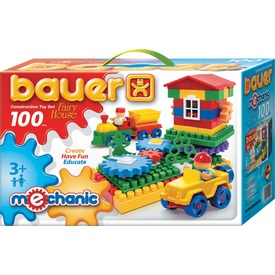 Bauer építőjáték - Mechanic, 100 db Itt egy ajánlat található, a bővebben gombra kattintva, további információkat talál a termékről.