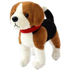 Beagle kutya plüssfigura - 15 cm