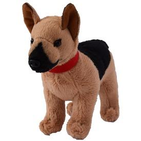 Német juhász kutya plüssfigura - 15 cm