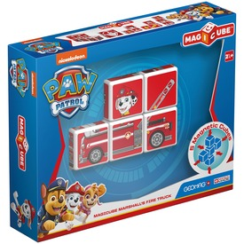 Geomag MagiCube Paw Patrol Marshalls Fire Truck