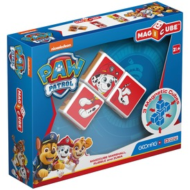 Geomag MagiCube Paw Patrol Marshall, Rubble and Zuma