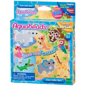 Aqua Beads - Állatkert kiegészítő