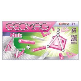 Geomag Pink Panels 22 darabos készlet