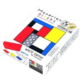 Mondrian logikai játék, fehér