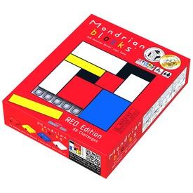 Mondrian logikai játék, piros