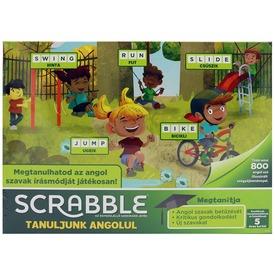 Scrabble Junior tanuljunk angolul társasjáték