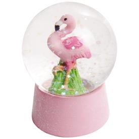 Flamingó hógömb, 2 féle