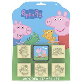 Peppa malac nyomda 5 fanyelű bélyegző +párna