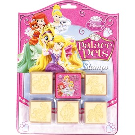Disney hercegnők állatos 6 darabos nyomdajáték