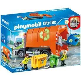Playmobil Szelektív kukásautó 70200