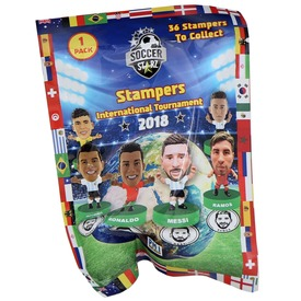 Soccer Starz focista figura - fóliás
