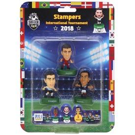 Soccer Starz focista figura - 3 db-os bliszteres