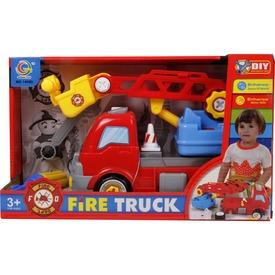 Szerelhető tűzoltóautó - 28 cm