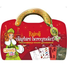Csilivili Lili Rajzolj világhírű hercegnőket