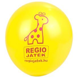 REGIO lufi 100 darabos készlet - sárga, 30 cm