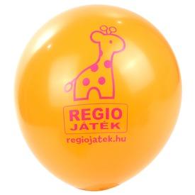 REGIO lufi 100 darabos készlet - narancs, 30 cm