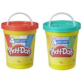 Play-doh szuper tégely vödör ast
