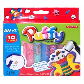Puffy 10 darabos festék készlet
