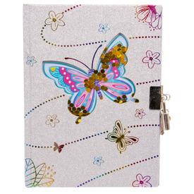 Emlékkönyv lakatos, pillangós