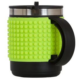 Pixie bögre - 480 ml, neon zöld