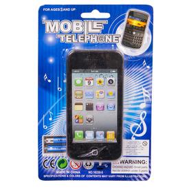 Mobiltelefon hang +fény lapon