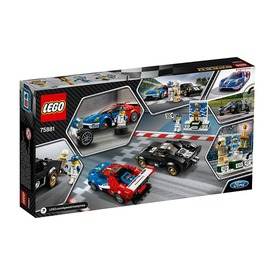 LEGO Speed Champions 2016 és 1966 Ford GT 75881