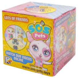 SOS Pets + kieg. 8 cm, 10x10 cm dobozos