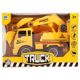 Szerelhető markolós teherautó - 24 cm Itt egy ajánlat található, a bővebben gombra kattintva, további információkat talál a termékről.