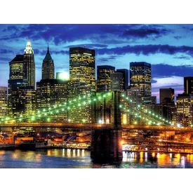 New York fényei 1500 darabos puzzle