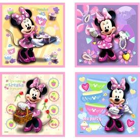 Minnie egér 2 x 25 és 2 x 36 darabos puzzle Itt egy ajánlat található, a bővebben gombra kattintva, további információkat talál a termékről.
