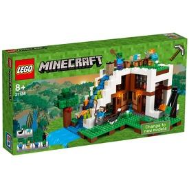 LEGO® Minecraft A vízesés bázis 21134