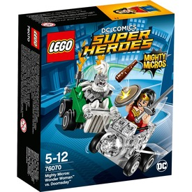 LEGO Super Heroes Wonder Woman és Doomsday 76070