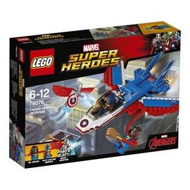 LEGO Super Heroes Amerika kapitány repülője 76076 Itt egy ajánlat található, a bővebben gombra kattintva, további információkat talál a termékről.