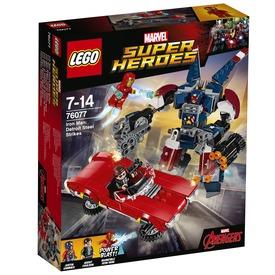 LEGO Super Heroes 76077 Vasember: Detroit Steel támadása Itt egy ajánlat található, a bővebben gombra kattintva, további információkat talál a termékről.